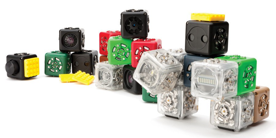 Cubelets Electronic Blocks Teach Kids Basic Robotics