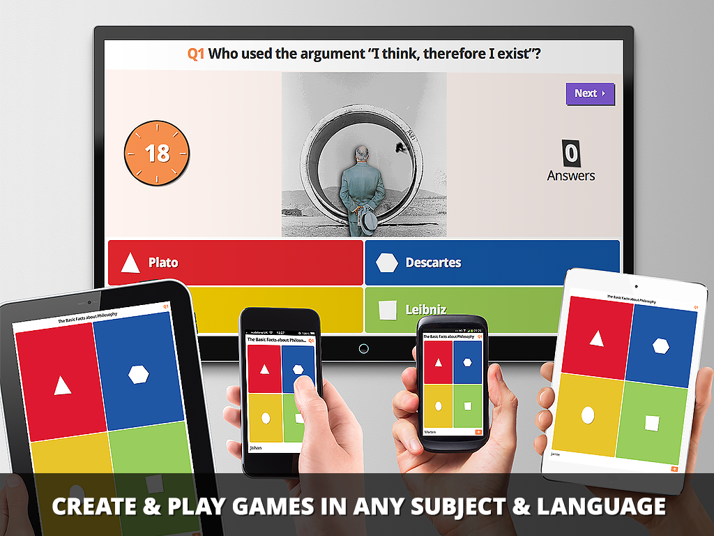 Kahoot! Create, play and share fun learning games for any subject, for all ages, for free!