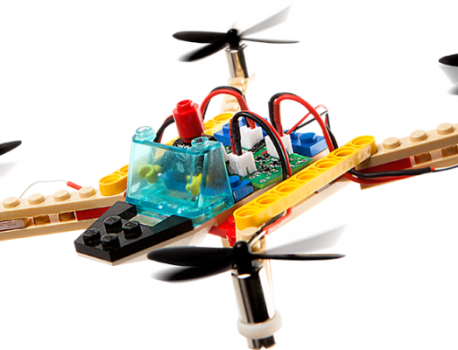 Kids can build their own drone!