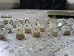 buttons from a keyboard
