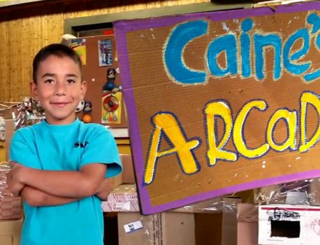 Caine's Arcade inspires a Global Cardboard Challenge