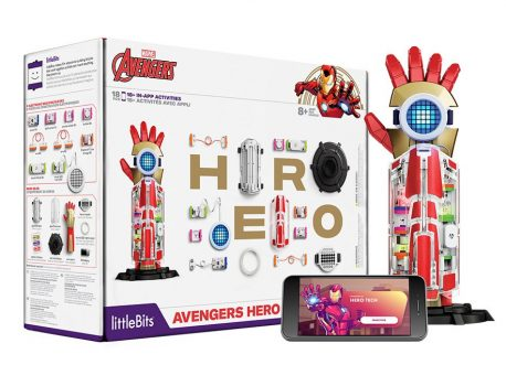 Using littleBits to become an Avengers Superhero